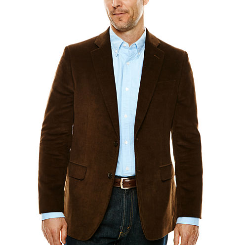 Stafford® Signature Corduroy Sport Coat - Slim Fit