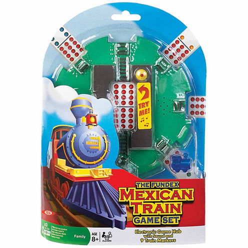 Ideal Mexican Train Game Set Dominoes