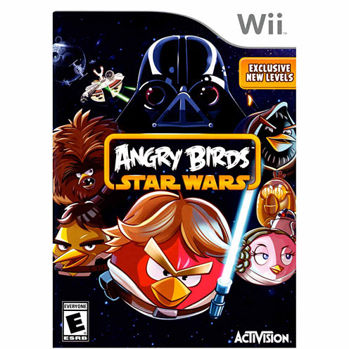 Angry Birds Star Wars Video Game-Wii