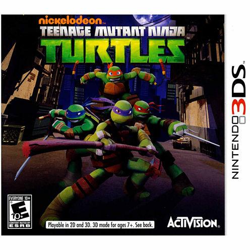 Teenage Mutant Ninja Turtle Video Game-Nintendo 3DS