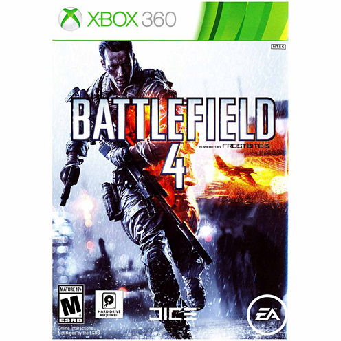 Battlefield 4 Video Game-XBox 360