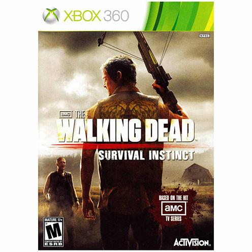 Walking Dead:Survival Instinct Video Game-XBox 360