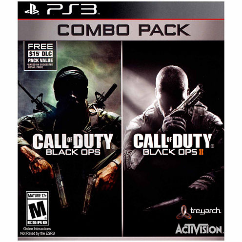 Call Of Duty Black Ops 1 & 2 Video Game-PS3