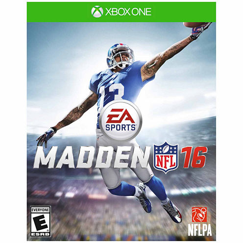 Madden Nfl 16 Video Game-XBox One