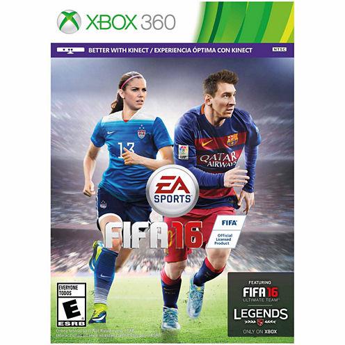 Fifa 16 Video Game-XBox 360