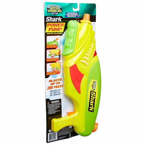 Buzz Bee Toys Water Warriors Shark Water Toy Playset