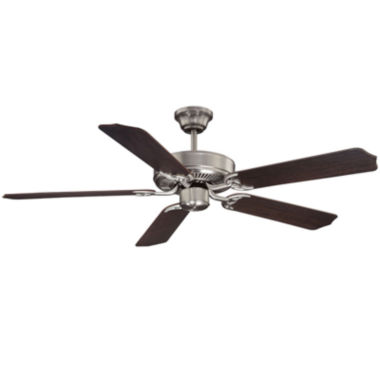 jcpenney.com | 52in Satin Nickel Indoor Ceiling Fan