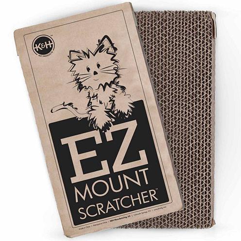 K & H Manufacturing EZ Mount Window Scratcher Refill 2-Pack, Brown