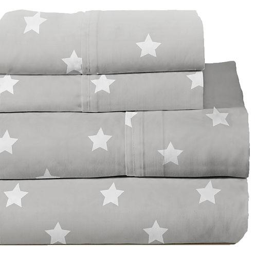 Lullaby Bedding Space Print Sheet Set