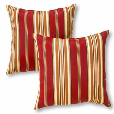"jcpenney.com | 17"" Outdoor Accent Pillow Set Of 2"