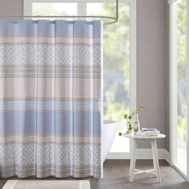 jcpenney.com | Clarice Cotton Shower Curtain