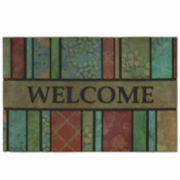 "Mohawk Home® Barcelona Stripe Rectangular Doormat - 18""X30"""