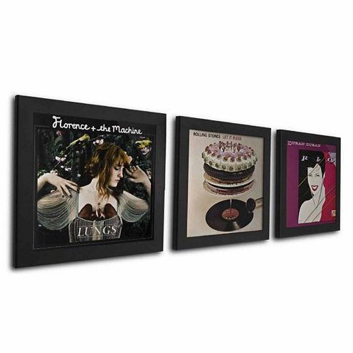 Pinnacle Triple Pack Vinyl Record Frame