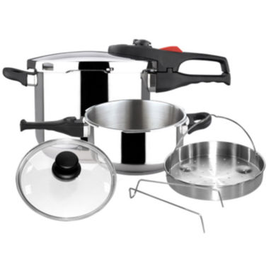 jcpenney.com | 6-pc. Pressure Cooker