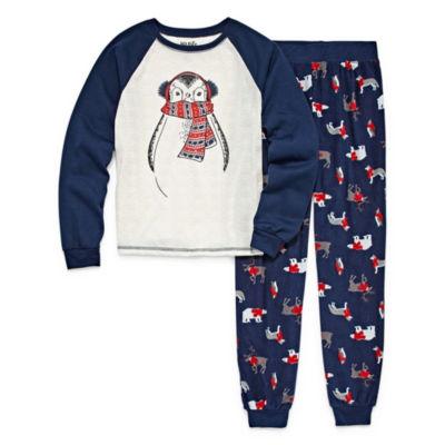 Holiday #Famjams Family Pajamas 2-pc. Set Unisex