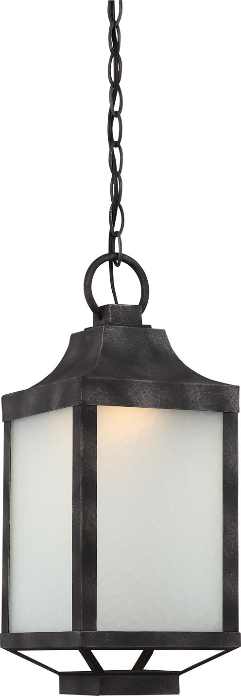 Filament Design 1-Light Iron Black Outdoor HangingLantern