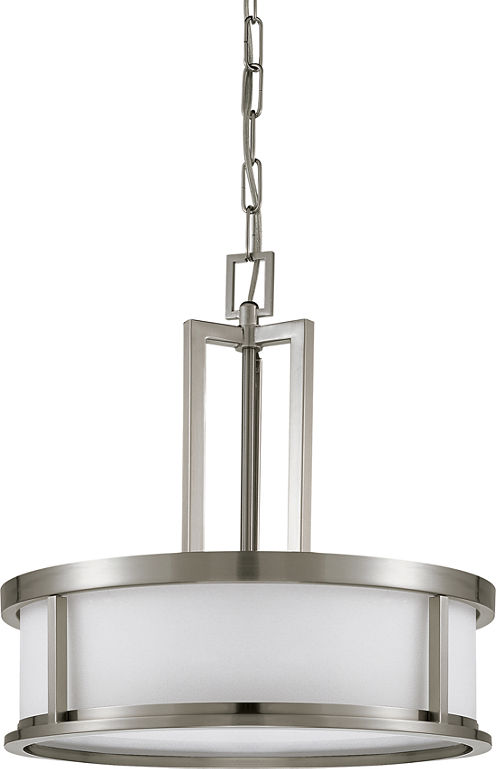 Filament Design 4-Light Brushed Nickel Pendant