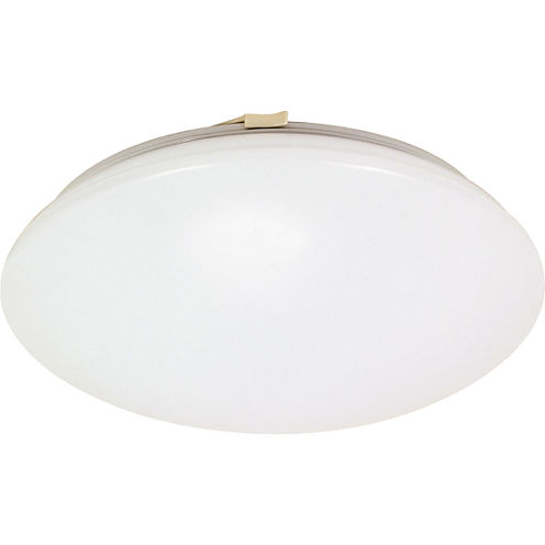 Filament Design 1-Light White Flush Mount
