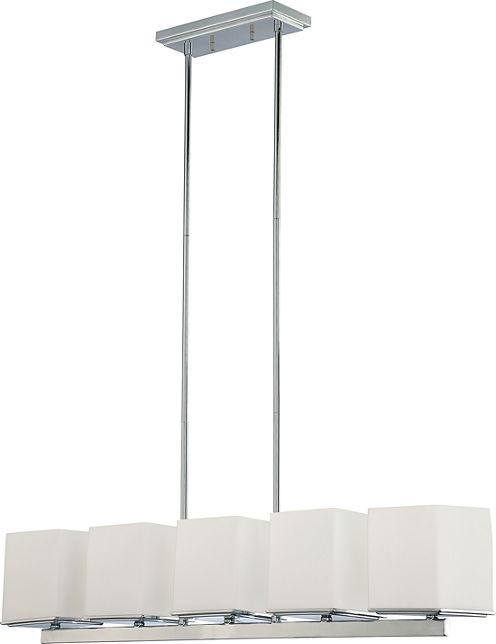Filament Design 5-Light Polished Chrome Chandelier