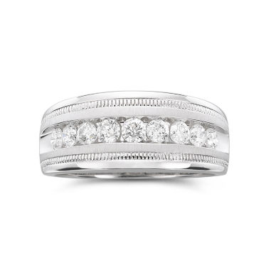 jcpenney.com | Mens 1 CT. T.W. Diamond Band 10K White Gold