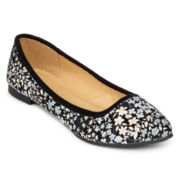 totes® Ditsy Floral Ballet Flats
