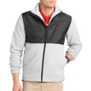 IZOD® Full-Zip Pieced Polar Fleece Jacket