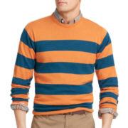 IZOD® Rugby Crewneck Sweater