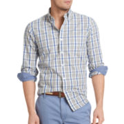 IZOD® Slim-Fit Patterned Woven Shirt