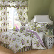 Waverly® Sweet Violets Quilt Set & Accessories