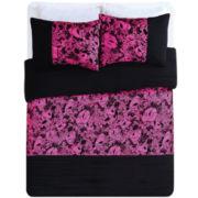 Seventeen® Neon Floral Comforter Set
