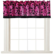 Seventeen® Neon Floral Valance