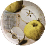 Nature Set of 4 Apple Salad Plates
