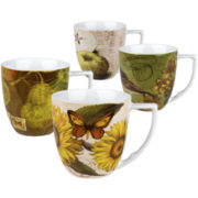 Waechtersbach Nature Set of 4 Assorted Mugs
