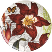 Traditions Set of 4 Noel Salad Plates