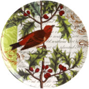 Traditions Set of 4 Greetings Salad Plates