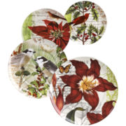 Traditions Set of 4 Assorted Salad Plates