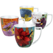 Impressions Set of 4 Assorted Mugs