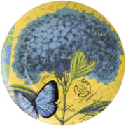 Impressions Set of 4 Hydrangea Salad Plates