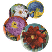 Impressions Set of 4 Assorted Salad Plates