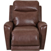 Priest Faux Leather Recliner