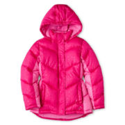 Vertical 9 Hooded Puffer Jacket - Girls 6-16 and Plus