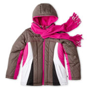 Rothschild Heavyweight Active Colorblock Coat – Girls 6-16