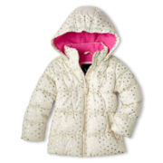 Vertical 9 Puffer Jacket – Girls 2t-6t