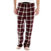 Stafford® Microfleece Sleep Pants–Big & Tall