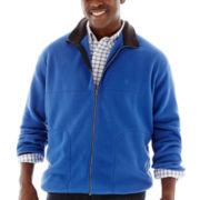 IZOD® Full–Zip Polar Fleece Jacket–Big & Tall
