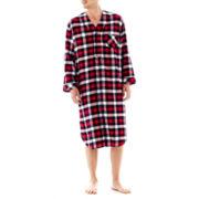 Stafford® Flannel Night Shirt–Big & Tall