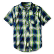 Arizona Short-Sleeve Woven Shirt - Boys 6-18 and Husky