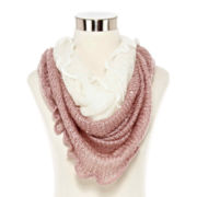Mixit™ Double-Layer Cowlneck Scarf