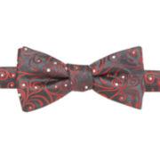 JF J. Ferrar® Jayhawk Vine Pre-Tied Bow Tie