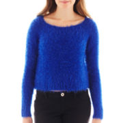 Decree® Long-Sleeve Eyelash Sweater